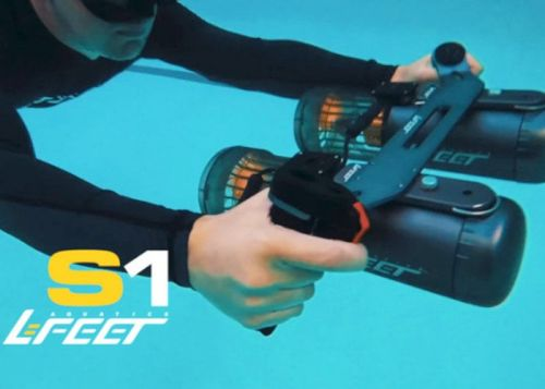 LeFeet S1 compact powerful underwater sea scooter