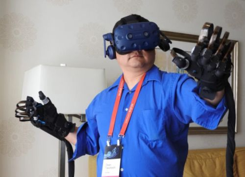 Haptx unveils haptic gloves so you can feel things in VR