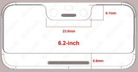 Google Pixel 3 XL Notch & Chin Dimensions Leak Online