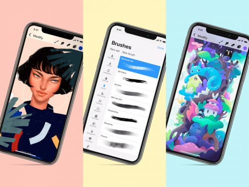 'Procreate Pocket' Gets Major 2.0 Update With New Interface, Hundreds of Handcrafted Brushes, and More