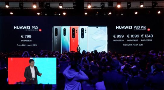 Huawei P30 & P30 Pro Go On Sale Today, Starting At €799