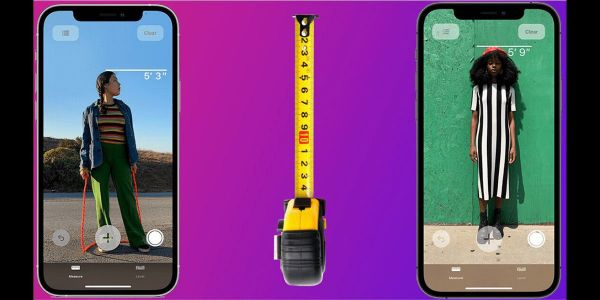 The iPhone 12 Pro's LiDAR scanner can measure someone's height