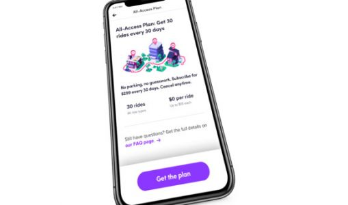 Lyft launches $299 subscription for 30 rides a month