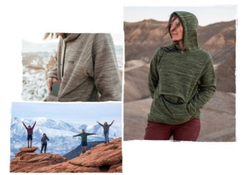 Evolution hoodie made from recycled coffee grounds and plastic bottles