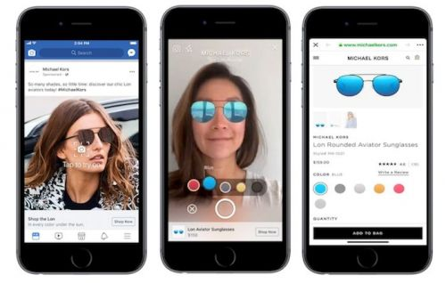 Facebook Testing News Feed AR Ads