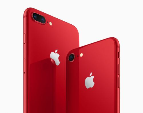 Apple reveals special edition Product Red iPhone 8 and 8 Plus smartphones