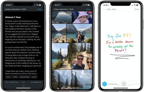 Day One 3.4 Introduces New Fonts, Drawing, and Apple Watch Improvements