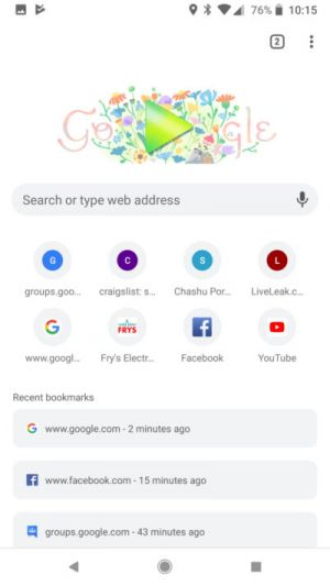 Chrome Beta For Android Hits Version 66 With New UI Design