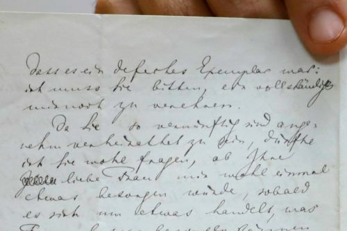 Anti-Semitic Letter Penned By Wagner Up For Sale