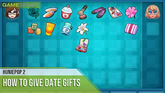 HuniePop 2: How to Give Date Gifts