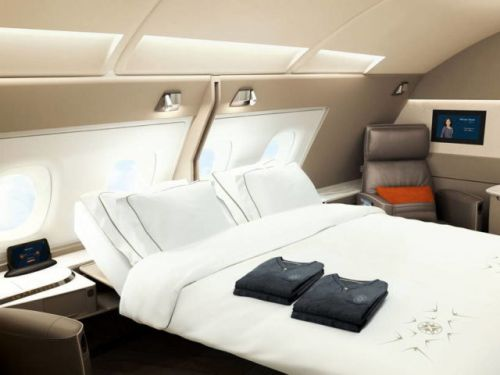 Singapore Airlines Debuts Luxury Cabin With A Bed And Armchair