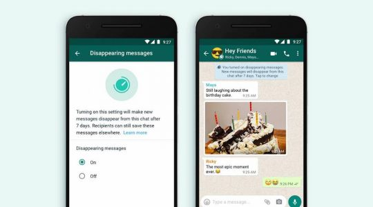 WhatsApp testing out 24-hour disappearing messages