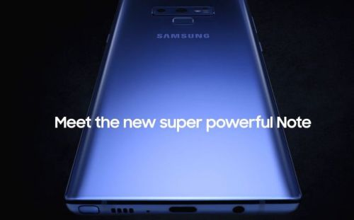 Samsung Galaxy Note 9 Official Intro Video Leaked