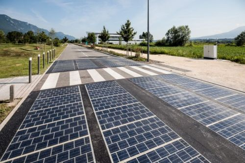 Solar panels replaced tarmac on a motorway. Here are the results