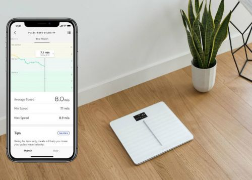 Withings pulse wave velocity feature returns in Europe