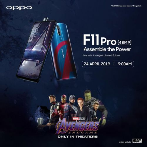 Calling all Marvel fans - check out this Avengers Endgame themed phone