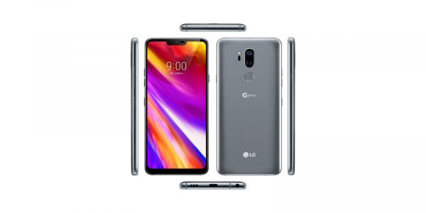LG G7 ThinQ leak shows off the phone from all angles, notch, bad branding and all
