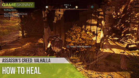Assassin's Creed: Valhalla - How to Heal, Upgrade Rations