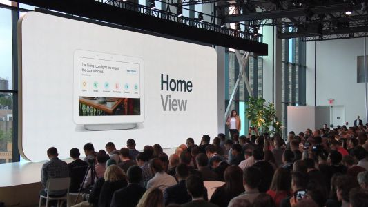 Google 'Home View' is a dashboard with easy home controls for Home Hub, Home app