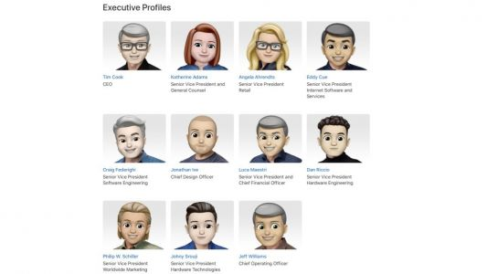 Apple gives its leadership site a Memoji overhaul in celebration of World Emoji Day