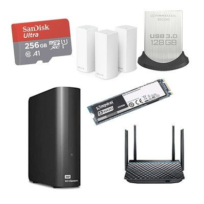 Save big on networking and storage gear from SanDisk, TP-Link and more