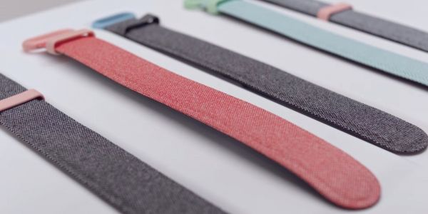 See Google's 'specially-made' art health band up close