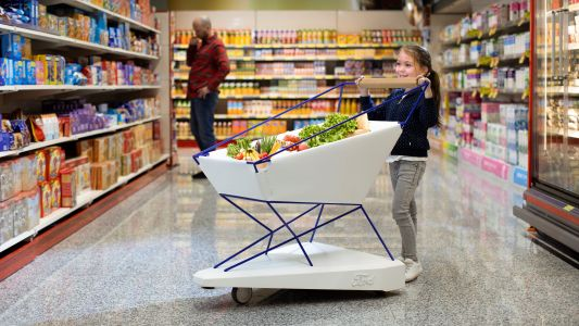 Ford's self-braking shopping cart will stop your little ones ramming strangers' shins
