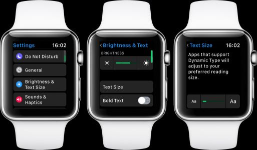 How to adjust text size and enable bold text on iPhone, iPad, or Apple Watch