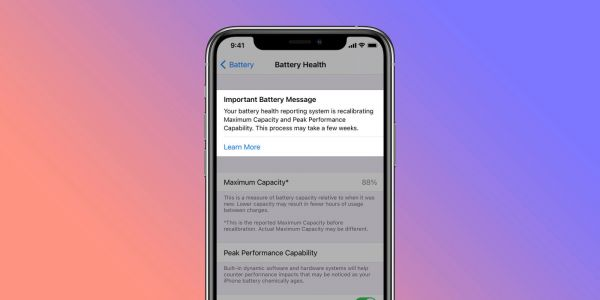 Hands-on: Here's how iPhone battery recalibration works in iOS 14.5