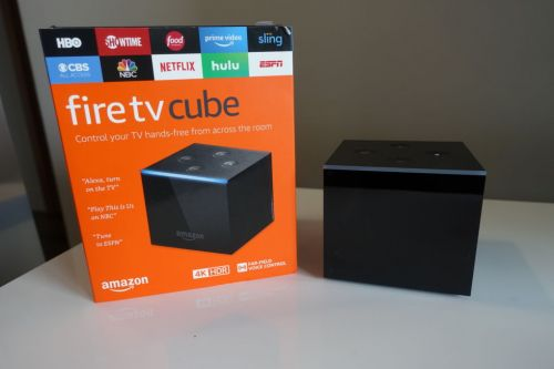 Amazon's Fire TV Cube is like a Fire TV blended with an Echo Dot