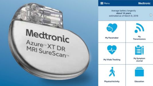 Medtronic debuts first apps to let heart patients monitor their pacemakers