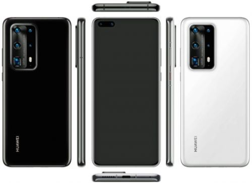 Huawei P40 Pro PE Shows Its Ceramic Body In Leaked Renders