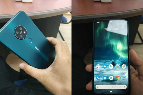 New Nokia 7.2 smartphone poses for the camera