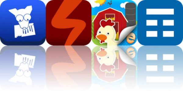 Today's Apps Gone Free: Dog Ate It, SquatRight, Farm Story Maker and More
