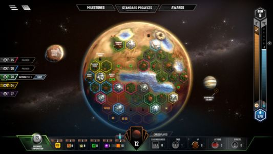 Review: Super-hot board game Terraforming Mars goes digital
