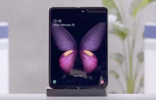 Samsung Galaxy Fold software update adds new camera features