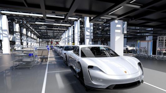 Porsche Taycan enters second phase of prototype production