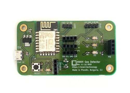 ANAVI open source wireless gas detection system