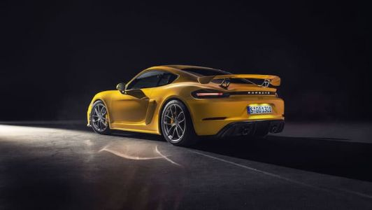 This is the new Porsche 718 Cayman GT4