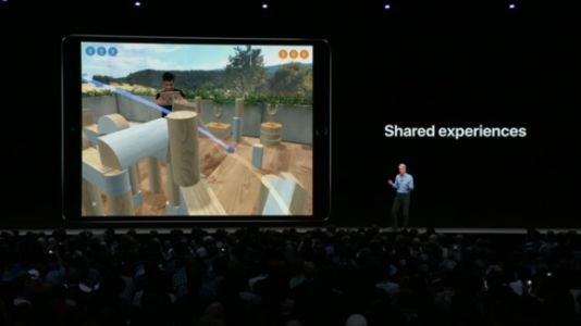 Apple unveils new AR file format and ARKit 2.0