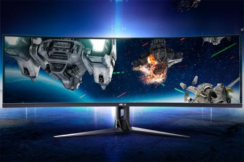 ASUS Launches VG49V: An Ultrawide Curved 32:9 49-Inch FreeSync LCD