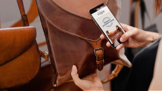 Blue Bite uses a shopper's smartphone to determine product authenticity