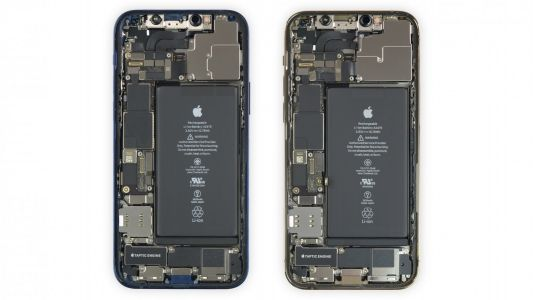 Get a look inside your iPhone 12 with iFixit's new X-ray and internal wallpapers