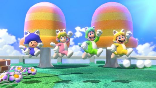 Does Super Mario 3D World + Bowser's Fury offer local multiplayer?