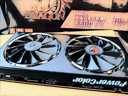 The PowerColor Red Dragon refresh simplifies the RX 5600 XT lineup