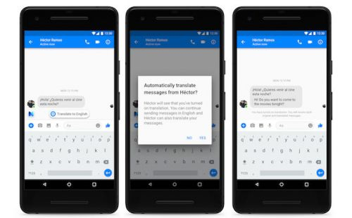Facebook Messenger Gets Spanish Translation Support For Messages
