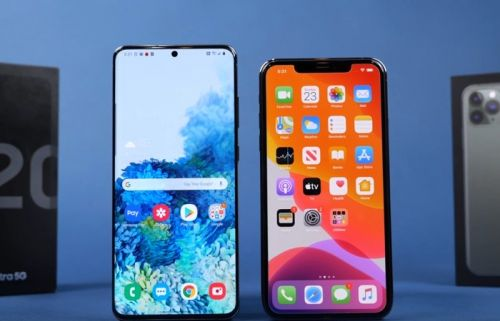 Speed Test: Samsung Galaxy S20 Ultra vs iPhone 11 Pro Max
