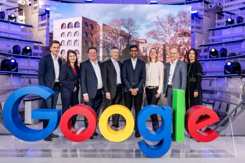 Sundar Pichai opens new Google Berlin office with YouTube Space coming this year