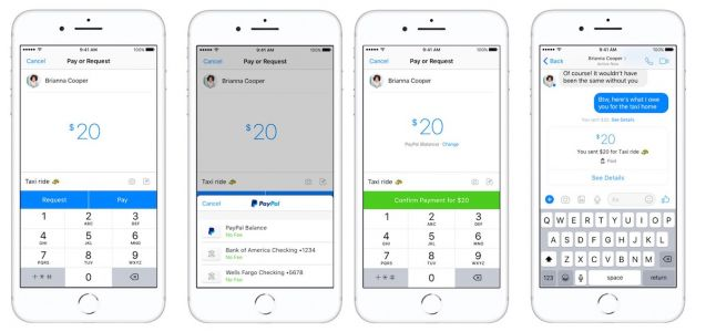You Can Now Pay Friends Through Facebook Messenger Using PayPal