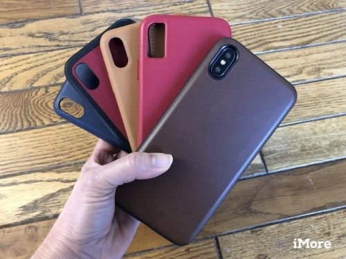 Best leather cases for the iPhone XS Max